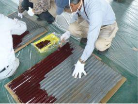 トタン塗装